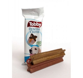 Tobby Dental Cross 70g/3 ks